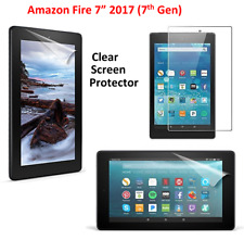 "Ultra Clear HD Screen Protector Guard Cover For Amazon Fire 7""(7th Gen) 2017"