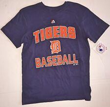 MLB Detroit Tigers Youth Large Shirt Size 14-16 NEW Baseball