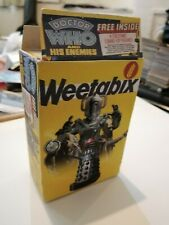 Doctor who repo small weetabix cereal box. Holds all weetabix style cards New.