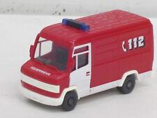 """Mercedes-Benz 507 D Kastenwagen rot/weiß """"Feuerwehr 112"""", o.OVP, Wiking, 1:87"""