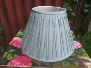 LAURA  ASHLEY -  Silk  Duck Egg Blue   Light / Lamp Shade 23cm H