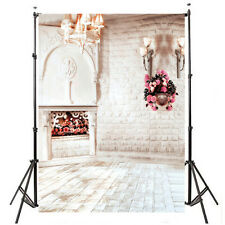 5x7ft Retro Wall Candle holder Backdrop Background Photo Studio Props Cloth