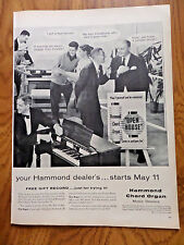 1956 Ad Hammond Chord Organ
