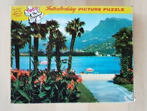 Vintage TUCO Superb Puzzle 5980-F LUGANO SWITZERLAND 350 to 400 Pcs COMPLETE