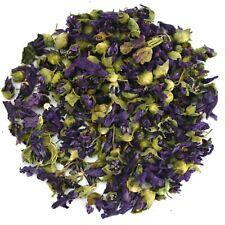 Blue Mallow, Dried Flowers, Blue Tea, Dry Malva Silvestris, Edible Dried Flowers