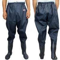 Waterproof Men Catch Fish Shoes Fishing Boot Outdoor Waist Wading Pants