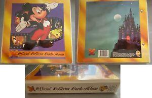 1993 Dynamic Marketing Disney official collectors card album full set rare cards