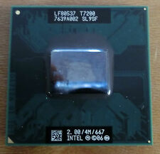 Intel Core 2 Duo Mobile T7200 2x 2,00 GHz Sockel M CPU 2,00/4M/667 SL9SF