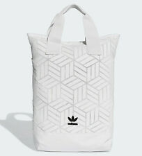 Adidas Originals 3D backpack womens bag Issey Miyake style NEW white last one