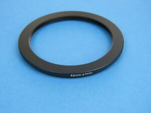 82mm to 67mm Stepping Step Down Ring Camera Lens Filter Adapter Ring 82-67mm