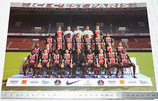 PHOTO 29.5 X 21 EFFECTIF PARIS SAINT-GERMAIN PSG  FOOTBALL 2011-2012