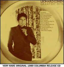 Leonard Cohen - The Very Best Greatest Hits Collection - RARE 1989 CD 60's 70's