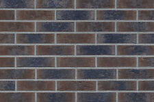 Strangpress Klinker-Riemchen NF-Format braun Kohlebrand Riemchen Verblender