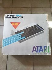 1983 Atari 800XL Vintage Home Computer in Box Includes Game & Power Adapter RARE
