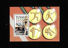 Tuvalu Block 43 ** Olympische Sommerspiele in Barcelona 1992