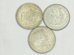 2-1921, 1- Morgan Silver Dollar Minted in SF