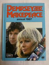 Dempsey And Makepeace Annual 1987 - World International (Hardback,1986) - GOOD
