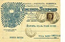 GG431-NAPOLI,ANTICA E PREMIATA FABBRICA DI RICAMI ARTISTICI-VINCENZO SERPONE,'42
