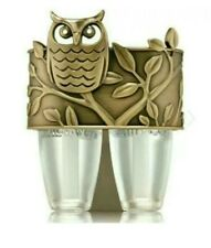 Bath & Body Works Owl Scent Switching Wallflower Duo Plug in Holder Diffuser