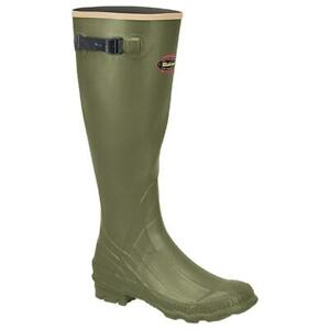 New LaCrosse Men's Grange 18 in Rubber Scent Free Hunting Boots, Green