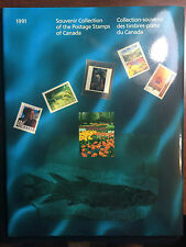 1991 CANADIAN ANNUAL SOUVENIR STAMP COLLECTION YEARBOOK