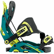 Flow Unisexe adulte Fusible Hybride Promenade fixations Snowboard M Teal 2018
