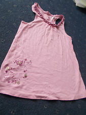 Girls Next pink vest top age 8 (7-8-9)