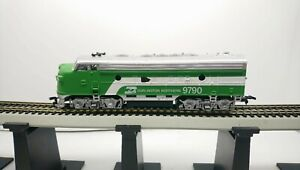 Life Like HO Train Burlington Northern EMD F9A Powered Diesel Locomotive