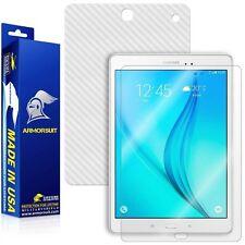 ArmorSuit Samsung Galaxy Tab A 9.7 Screen Protector + White Carbon Fiber Skin