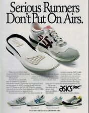 1990  ASICS Gel GT-Xpress   shoes :    Magazine  Print AD