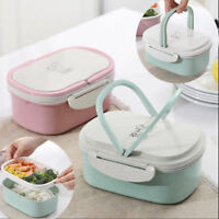 Lunch Box Portable Picnic Microwave Bento Food Snack Fruit Storage Container
