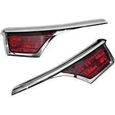 Kuryakyn 3242 Passenger Armrest Trim with LED Turn Signal 2001-05 Gold Wing 1800