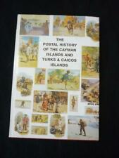 POSTAL HISTORY OF THE CAYMAN ISLANDS & TURKS & CAICOS by PROUD -16 PAGES MISSING