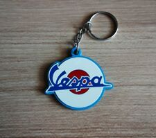 Vespa Keychain Keyring Rubber Bike motorcycle classic Cute Gift Free shipping