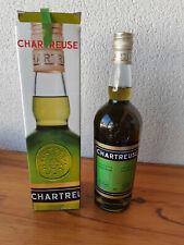 Authentique Liqueurs de Chartreuse verte , cuvée années 70, non ouverte,  70 cl.