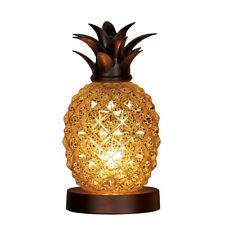 Mercury Glass Tabletop Pineapple Lamp, By Collections Etc