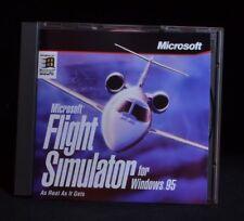 Microsoft Flight Simulator For Windows 95 PC game CD-ROM