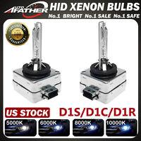 2 NEW! D1S 5K 6K 8K 10K Factory OEM HID Replacement Xenon Headlight Light Bulbs