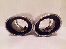 TWO OEM 13-16 Toyota Subaru Scion FZ FR-S BRZ Muffler Exhaust Pipe Tips - A44#36