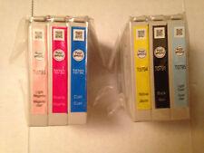 GENUINE epson 79 #79 printer ink cartridge set ARTISAN 1400 STYLUS 1430 T0791