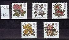 Gran Bretagna 1991 Serie Rose - roses MNH