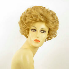 short wig for women short curly golden blond REF KIMBERLEY 24B PERUK