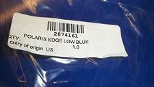 "Polaris OEM new 12"" flared sonic blue windshield 2874161 Edge X XC"