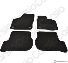 Volkswagen Golf MK6 08-13 Tailored Black Car Floor Mats Carpets 4pc Round Clips