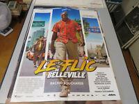 Le Flic De Belleville Con Omar Sy - Película: CM 40x54 Carteles Cine Entre