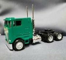 Herpa # 25246 Peterbilt 362E Cabover w/Dual Rear Axles - Assembled Green HO MIB