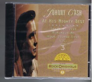 CD (NEW) JOHNNY CASH  VOL  3  ROCK ORIGINALS (SUN ) TRAIN OF LOVE
