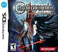 Castlevania: Order of Ecclesia (DS, 2008) GAME CARD ONLY, TESTED AND WORKING