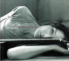 CD audio + DVD.../...CARLA BRUNI.../...QUELQU'UN M'A DIT.........