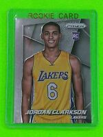 JORDAN CLARKSON 2014-15 PANINI PRIZM BASE ROOKIE RC #287 LAKERS JAZZ PSA 9-10?!!